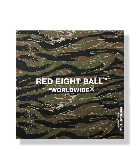 *WORLDWIDE© LOGO DEEP JUNGLE CAMOUFLAGE BANDANA