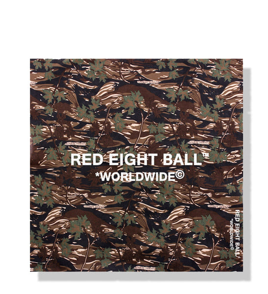 *WORLDWIDE© LOGO FOREST FLOOR CAMOUFLAGE BANDANA