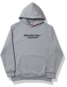 RED 8 BALL™ WORLDWIDE LOGO HOODIE