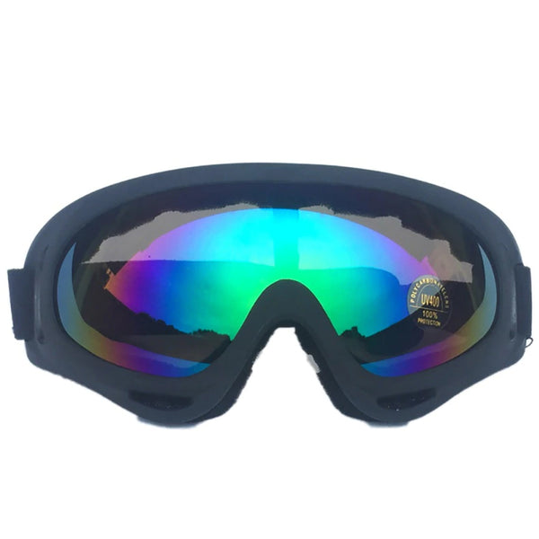5280 THE MILE HIGH // BLACK FRAME COLOR CHANGING LENS ANTI-FOG SKI GOGGLES
