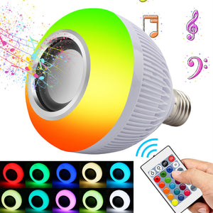 BoogyBright - Wireless LED Speaker Bulb