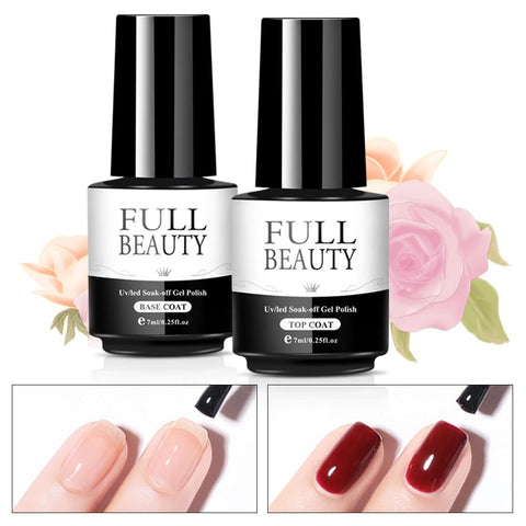 difference between base coat and top coat for nails