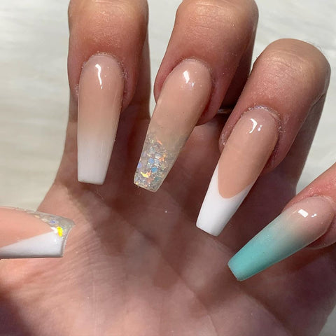 How to apply acrylic nail extensions at home?