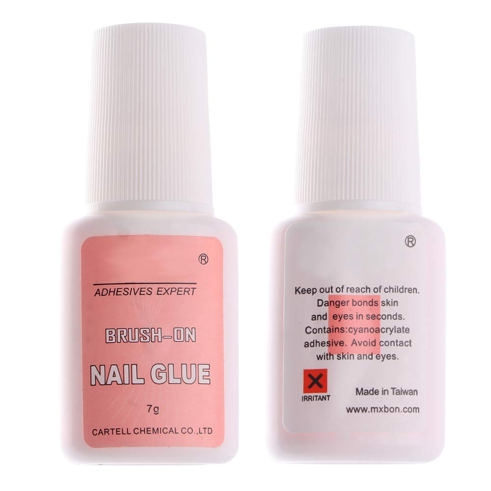 7g Fast Drying Nail Glue for False Nails VT202253 - Vettsy