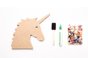 Unicorn Face Craft Activity Pack