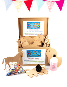 Button-It Big Box | Keep the kids entertained for days! £7 Each (minimum 5) - 5 Shapes for £35
