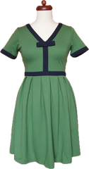 We're Going To Be Friends Dress ( Emerald Green )