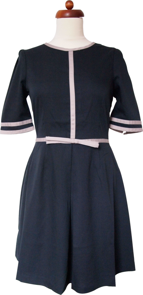 Picture of Tell Me Something I Don't Know Dress (Navy)