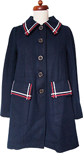 Picture of Shining Through The Dark Coat (Navy)