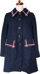 Shining Through The Dark Coat (Navy)