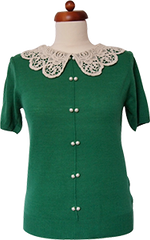 Another Pearl Top (Emerald)