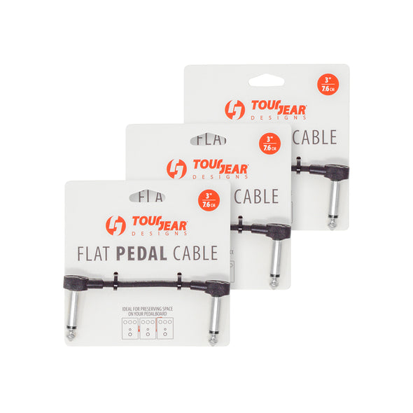 "3"" Flat Pedal Cable - TourGear Designs Inc."