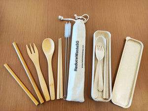 Perfect for a family day, travel the world with our biodegradable cutlery set and contribute to a greener earth.