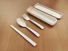 Load image into Gallery viewer, Wheat Cutlery Set Various Colours