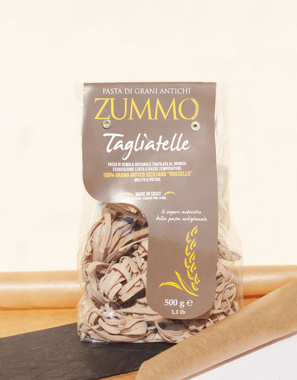 TAGLIATELLE - Ancient Sicilian wheat