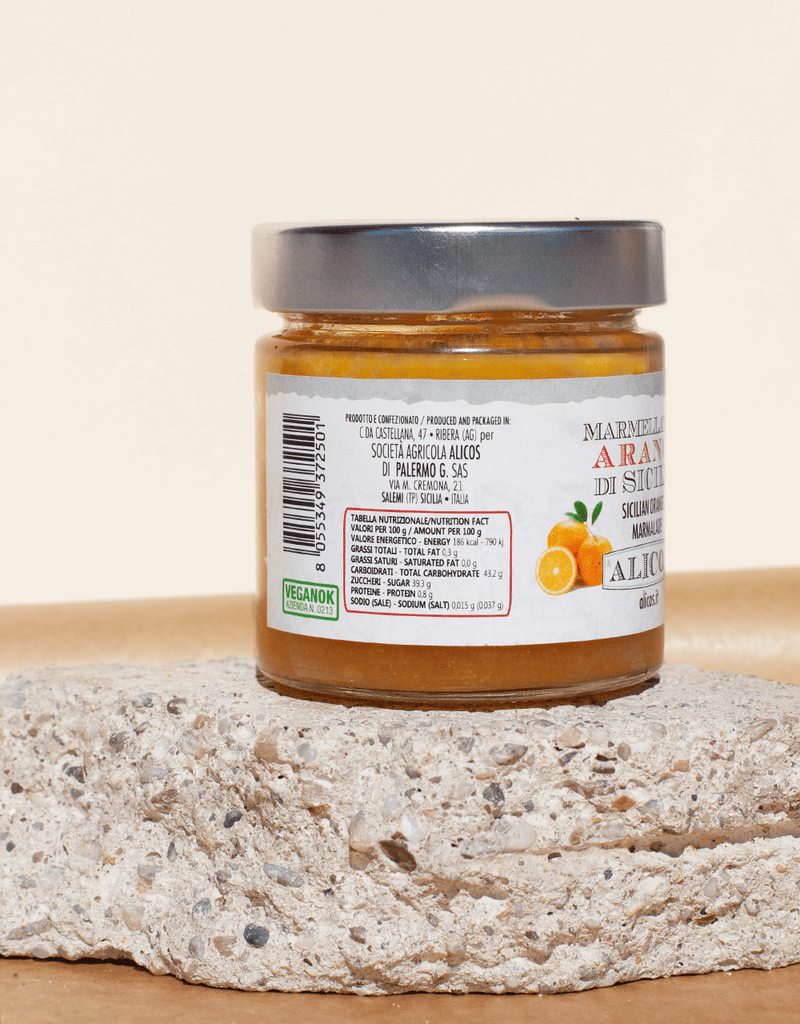 SICILIAN ORANGE JAM FROM RIBERA