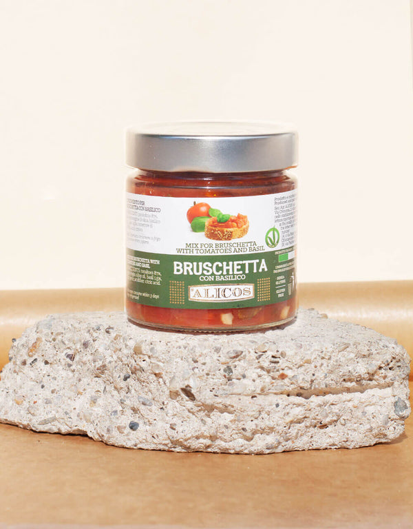 DRESSING FOR BRUSCHETTA WITH BASIL