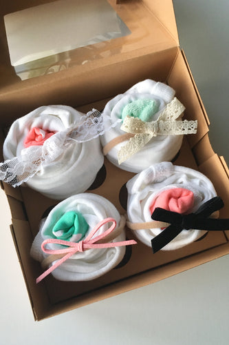 Cupcake Gift Sets (4 color options)