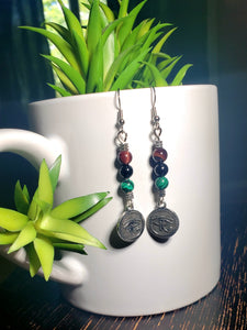 Eye of Ra Earrings 2