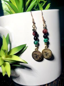 Eye of Ra Earrings 1