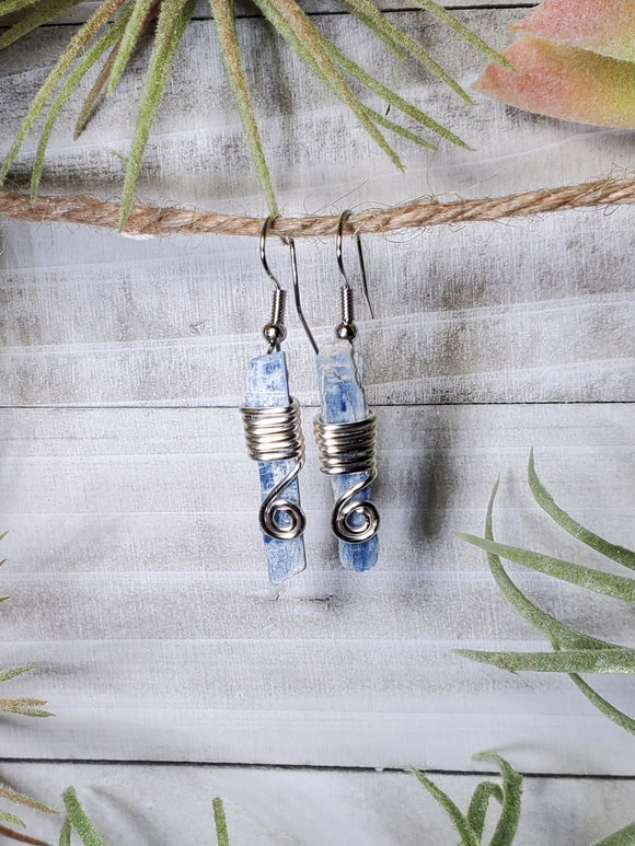 Blue Kyanite Earrings 5