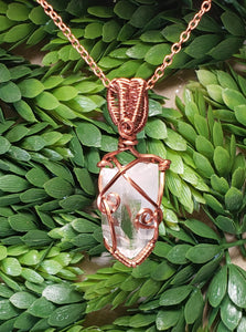 Clear Quartz Pendant 8
