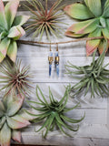 Blue Kyanite Earrings 2