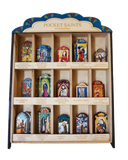 #S015P Painted Display Box - Pocket Saints