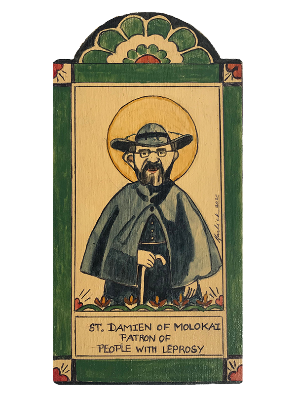 #146 St. Damien of Molokai - Invoked against Leprosy