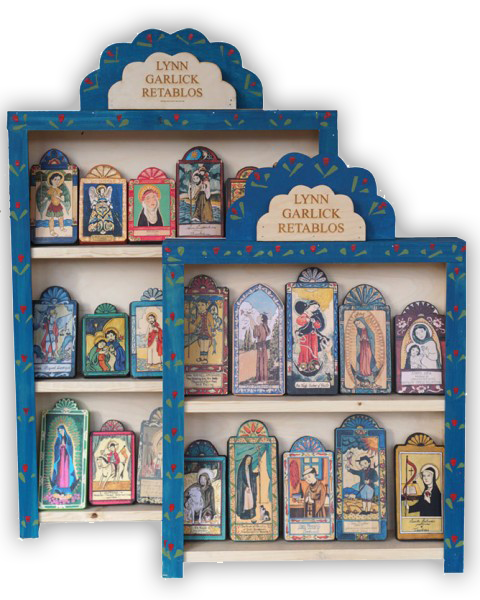 #S018RD Painted Display Box - Small Saints