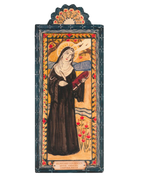 #127 St. Hildegard Von Bingen – For Mystics, Writers, Composers, Visionaries & Philosophers