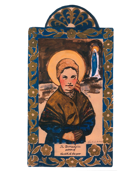 #105 St. Bernadette – For the Sick and Poor