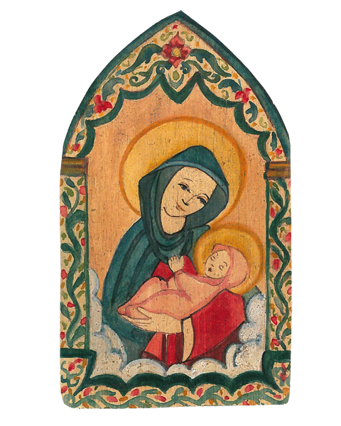 #004A Madonna & Child - Illumination of Mind