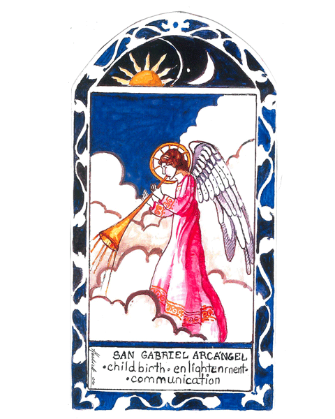#050A San Gabriel Archangel - Childbirth & Postal Workers