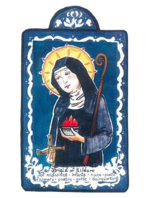 #067 St. Brigid of Kildare - Midwives, Infants & Poets, Protection from Fire