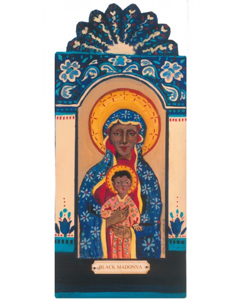 #128 Black Madonna - Wisdom, Illumination of Mind and Protection