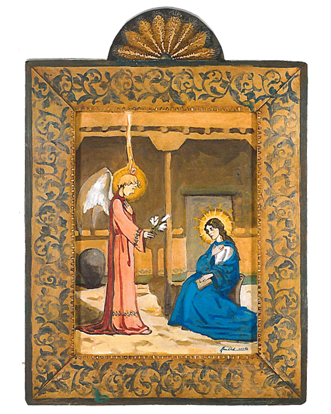 #107 The Annunciation