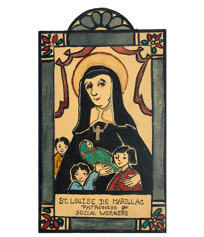 #148 St. Louise de Marillac - Patroness of Social Workers