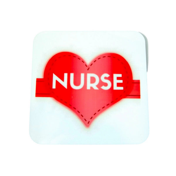 Love a Nurse Heart Coaster