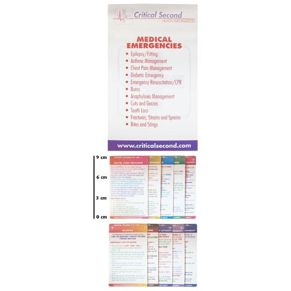 Cue Card Mini Pack - Medical Emergencies