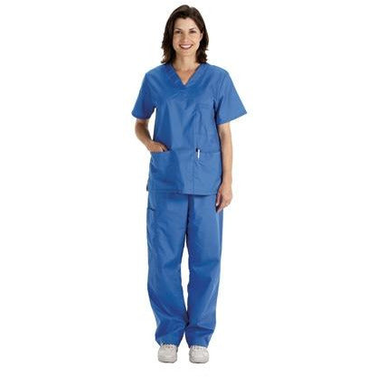 Nurse Scrubs - Light Blue/Ciel