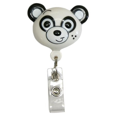 Pedia Pals Purple Panda Retractamal ID & Security Badge