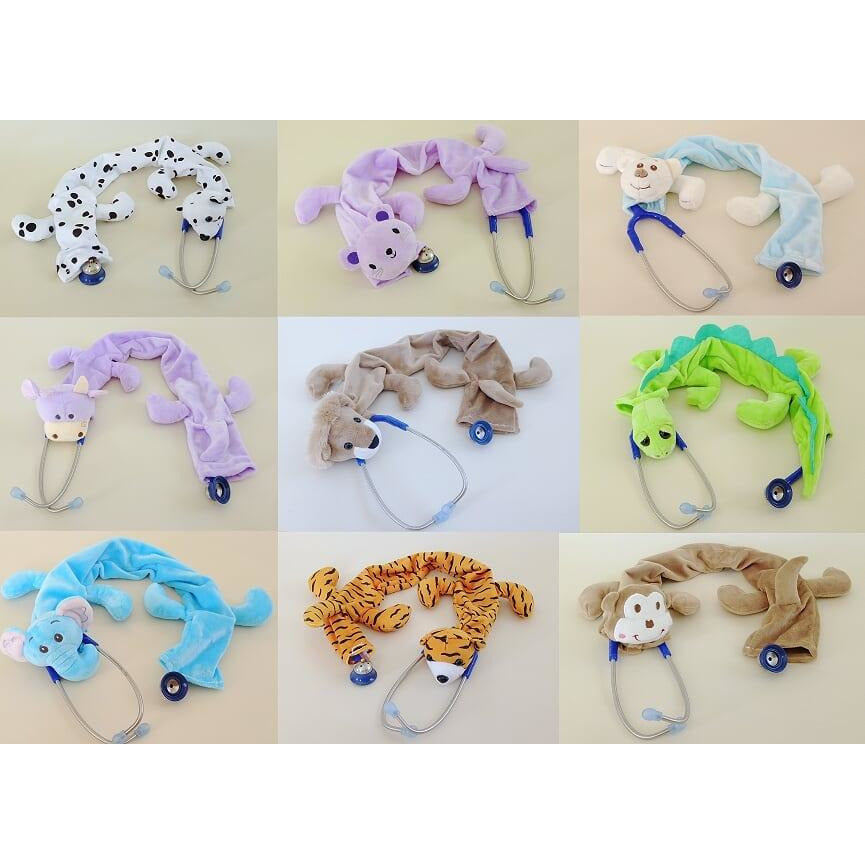 Pedia Pals Plush Stethoscope Covers - various styles