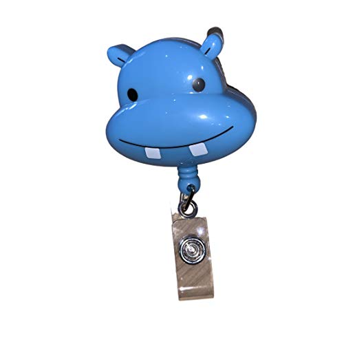 Hippo Retractable Badge Holder