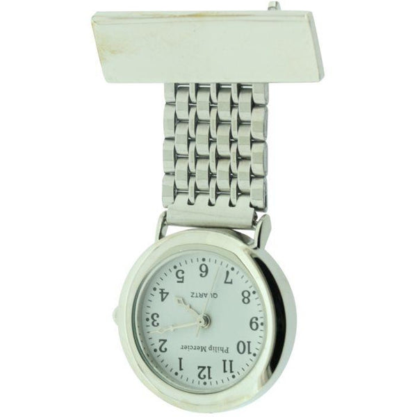 Philip Mercier Silver Classic Fob Watch