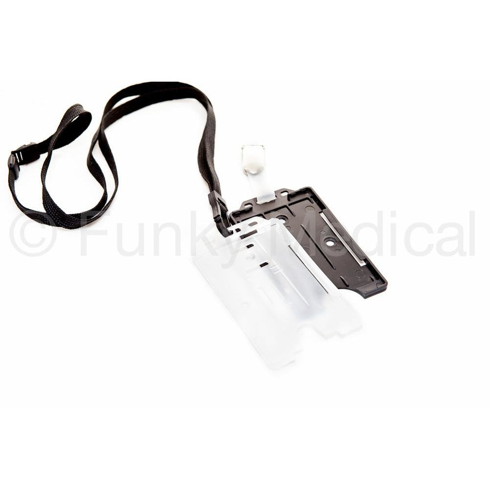Vertical BullDog ID Holder - Two Colours