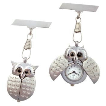 Owl Nurse Fob Watch