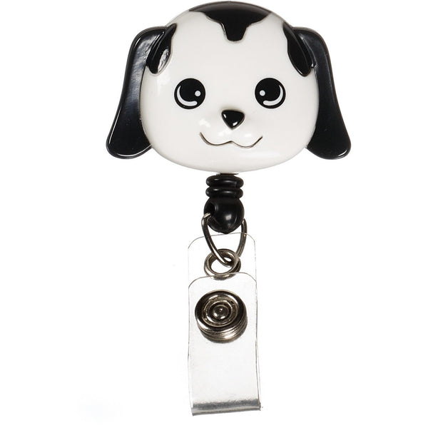 Nurse DOG Retractable Badge Holder