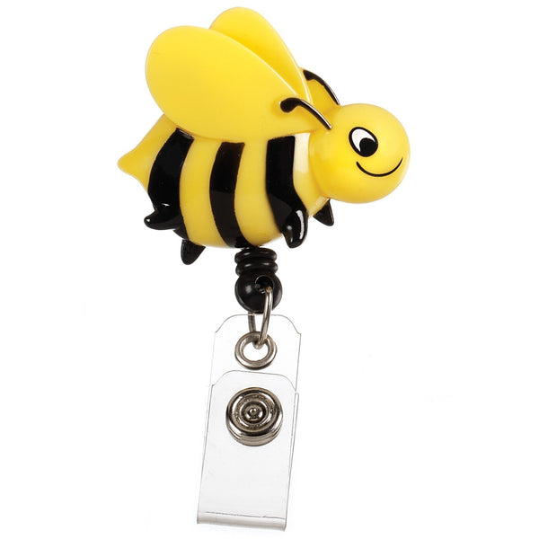 Nurse Bee Retractable Badge Holder