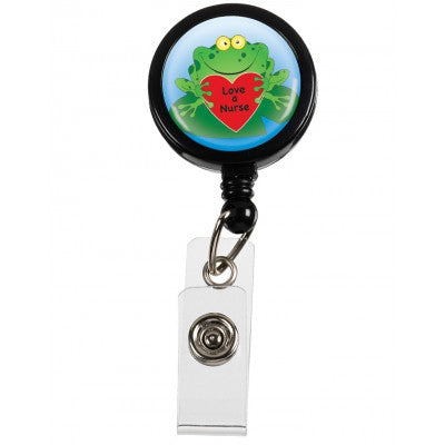 Frog Retractable ID Badge